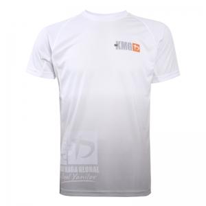 Krav maga KMG Performance T-shirt - Sublimatiedruk - Beginner-P1-P2 - Wit - Heren