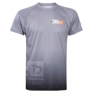 Krav maga KMG Performance T-shirt - Sublimatiedruk - G-Levels - Donkergrijs - Heren