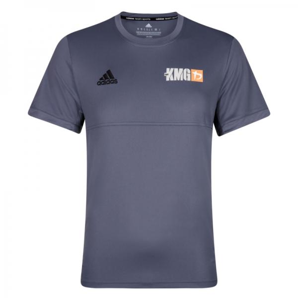 Krav maga Adidas Climalite - KMG T-shirt - men - dark grey
