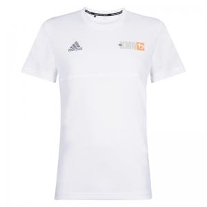Krav maga Adidas Climalite - KMG T-shirt - men - white