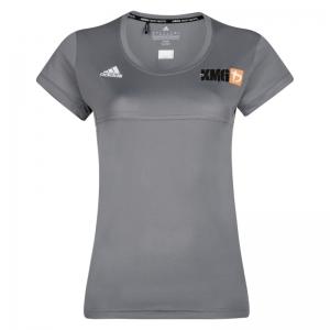 Krav maga Adidas Climalite - KMG T-shirt - women - light grey